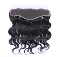 Wholesale Brazilian Lace Frontal Closure Body Wave Human Hair x4 Ear To Ear Lace Frontal With Baby Hair Full Lace Frontal Closure