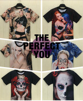 Wholesale fashion designs d t shirt women men t shirts with top cool sexy pictures short sleeve s xxl size free shiping