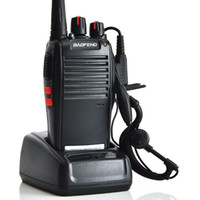Wholesale 10 Popular Black Baofeng BF S Portable Two Way Radio Sets Bao Feng S UHF FM Radio Walkie Talkie MHz