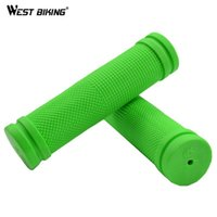 Wholesale Bike Grips Bicycle Mountain Bike Soft Rubber Handlebar Grips Outddor MTB Road Riding Cycling Bike Bicycle Handlebar Grips