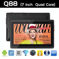 android tablets on sale - FREE DHL inch Tablets Quad Core android tablet pc Q88 pro Allwinner A23 android dual camera WIFI OTG HD capacitive screen on sale