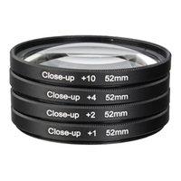 Wholesale 52MM Macro Close Up Filter Lens Kit for NIKON D7100 D5100 D5200 D3300 D3200 D3100 D800 D700 D600 D90 D80 Camera Len
