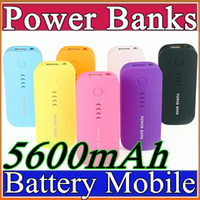 battery charge supplies - Free UPS Battery charge Power Bank mAh Portable powerbank External Battery power supply mobile charger for mobile phone E YD