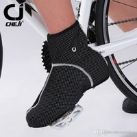 Wholesale Latest Mens Womens Thermal Warm Windproof Waterproof Winter Cycling Shoe Covers MTB Road Bike Bicycle Sport Shoe Cover Reflective Hot Sale