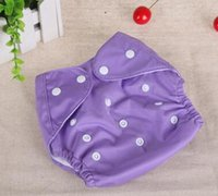 Wholesale Baby Washable Reusable Real Cloth Pocket Nappy Diaper Cover Wrap suits Birth to Potty Nappy Diaper Cover Wrap Inserts