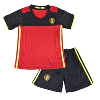 american football team shirts - 2016 European Championship Euro Belgium kids jersey football youth shirt team Belgium boys clothes
