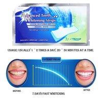 Wholesale 2016 new arrivals Degree Advanced Teeth Whitening Strips Dental Whitening Kit Enamel White Whitestrips