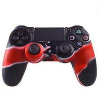 Housse de protection en silicone pour PlayStation Dualshock 4 PS4 PS3 Housse de camouflage pour Xbox ONE 360 Gamepad Controller