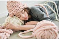 Wholesale Super Thick Yarns Scarf blanket BIG knit Yarn High Grade Thick hat Yarn For Hand Knitting crochet Yarn g