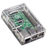 Wholesale EDT Premium Case Box for Raspberry Pi Model B Case Cover Enclosure Box ABS Transparent