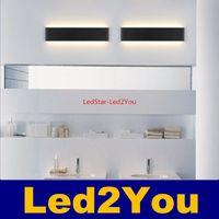 Wholesale 7W W W W W W Modern minimalist LED aluminum wall lamp living room bedroom bedside lamp aisle wall lamp bathroom mirror lights