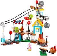 best bird toys - 2016 New LP19004 Crazy Birds Movie Pig City Teardown Building Blocks Models Toy Children Kids Best Gifts Toys Bricks