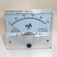 ammeter use - DC mA AMP Analog Current Panel Meter Ammeter mA High Quality Assurance Amperometro Analogico For Home Use