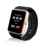 Wholesale 2016 Bluetooth Smart Watch GT08 wearable devices Smartwatches Support Sim Card MP3 For Samsung Huawei ios Android phone
