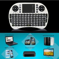 Wholesale High quality I8 Fly Air Mouse G Mini Wireless Keyboard game Mouse for computer tv box with retail box