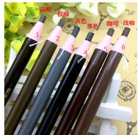 Wholesale Colors automatic Tattoo Pull Eyebrow Pencil For Eye brow Pen Cosmetic Makeup Waterproof Tattoo Accessories