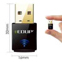 Wholesale DHL EMS EDUP EP N1557 Nano mini network card N Mbps wireless N wifi usb adapter dongle wifi receiver transmitter