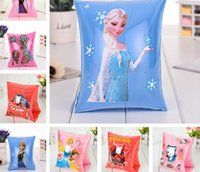 Wholesale creative cartoon frozen monsterhigh spiderman CARS Inflatable swim arming arm band sleeves kid children s bath toy for summer autumn gift