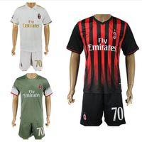 acm milan - 2016 Milan Soccer Jerseys AC Shirts Sets ACM Bacca Montolivo Shaarawy Bonaventura Home Away Third Football Kits Soccer Uniforms Jersey