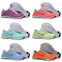Wholesale 2015 New Free Run V4 Women Running Shoes Lady Athletic Trainers Weightlight Sport Shoes Eur Size US5 US8