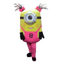 Wholesale styles Despicable me minion mascot costume for adults despicable me mascot costume