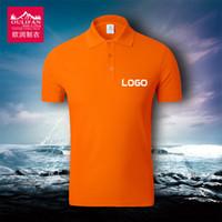 Wholesale 100 polyester Men short sleeved lapel neck shirts T shirt HOT OEM Logo Customized summer thin quick drying polos shirt DHL L XXXL