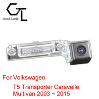 auto transporter - For Volkswagen VW T5 Transporter Caravelle Multivan Wireless Car Auto Reverse Backup CCD HD Night Vision Rear View Camera