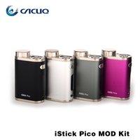 Eleaf iStick Pico 75w TC Mod Box energiza mediante una batería 18650 Mejor juego para el más nuevo Melo III Mini atomizador