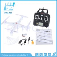 Wholesale BINGO SYMA X5C Explorers G CH Axis Gyro RC Quadcopter With HD Camera New Upgraded Version LED light