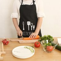 Wholesale 2016 newest Original design cotton apron print spoon fork apron Three color optional