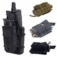 Wholesale Outdoor Tactical Molle Double Decker M4 Pistol Magazine Pouch