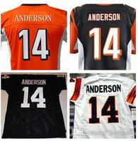 Wholesale Ken Anderson jersey throwback retro retried Elite Jersey Size small S M L XL XXL XXXL xl cheap NEW New