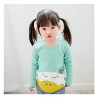 animal face t shirts - The latest trends in the autumn of children autumn children s wear T shirt cartoon face