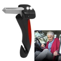 Wholesale Car Cane Portable Handle Door armrests Car Cane multifunction armrest car handle car safety handrail safety hammer DHL