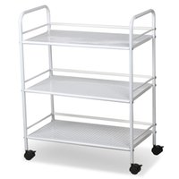Wholesale White Salon Trolley Cart Shelves