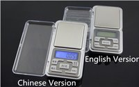 Wholesale 500g English Version Weighing Scales Digital Electronic Scale Mini Jewelry Pocket Scale