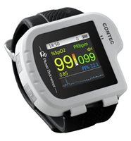 best value watches - best price new Watch style pulse oximeter With display PR PI SpO2 value pulse oxygen saturation with oximeter probe CMS50I