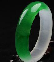 hand carved jade - NATURE GREEN Jade Jadeite Bracelets Hand Carved Bracelets Jewelry Size52 Good quality