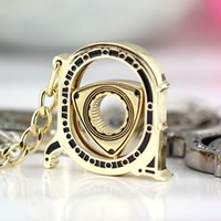 auto part suppliers - keychain supplier New HOT Spinning Wankel Rotor Keychain Creative Car Auto Parts Model Engine Rotary Keyring Key Ring Chain Keychain Keyfob