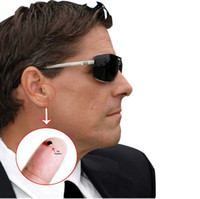Wholesale Tiny Spy Ear Piece Earbud Device Mini Wireless Earpiece Earphone for Mobile Phone mm Jack