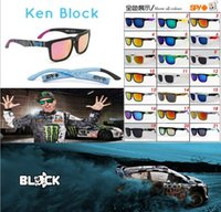 Wholesale 2015 NEW Arrival ken block helm American Style KEN BLOCK Sunglasses Fashion Cool Reflective Sports Eyewear Driving Sunglasses