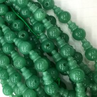 aventurine jewelry - High Quality Natural Genuine Green Aventurine Jade Pagoda Tee Buddha Head Tibet Guru Beads Fit Jewelry DIY Necklaces