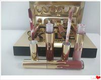 Wholesale 2016 New arrival Kylie Cosmetics Matte Lipstick lip gloss Mini Kit Lip birthday limited edition gold