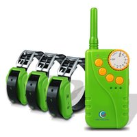 Wholesale PETINCCN P681G M Remote Dog Training Collars Waterproof Rechargeable with Four Functions of Range finding vibration shock Tone Collars