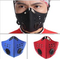 Wholesale Activated carbon Sport Half Face Mask Winter Warm Outdoor Ski Mask Ride Bike Cap Mask Neoprene Bicycle Cycling Motorcycle Snowboard High