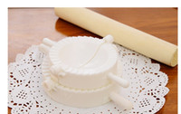 Wholesale Household kitchen cook tool manual dumplings pinch dumplings is a mold piece suit