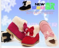 Wholesale High quality Patent Leather Children Ankle Boots Winter Children Snow Boots Zip Side Flower Colorful Girl Shoes