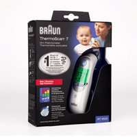 Wholesale 2016 Braun Thermoscan IRT6520 infrared Ear Thermometer Outdoors Outdoor Sports Emergency Prep First Aid DHL Free