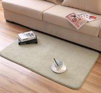 acrylic sofa table - 80 cm Sofa table floor carpet for foreroom living room area rugs bedside yoga mats footcloth