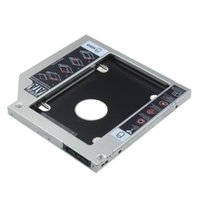 Wholesale 9 mm Universal SATA nd HDD Caddy SSD Hard Drive for DVD ROM Optical Bay